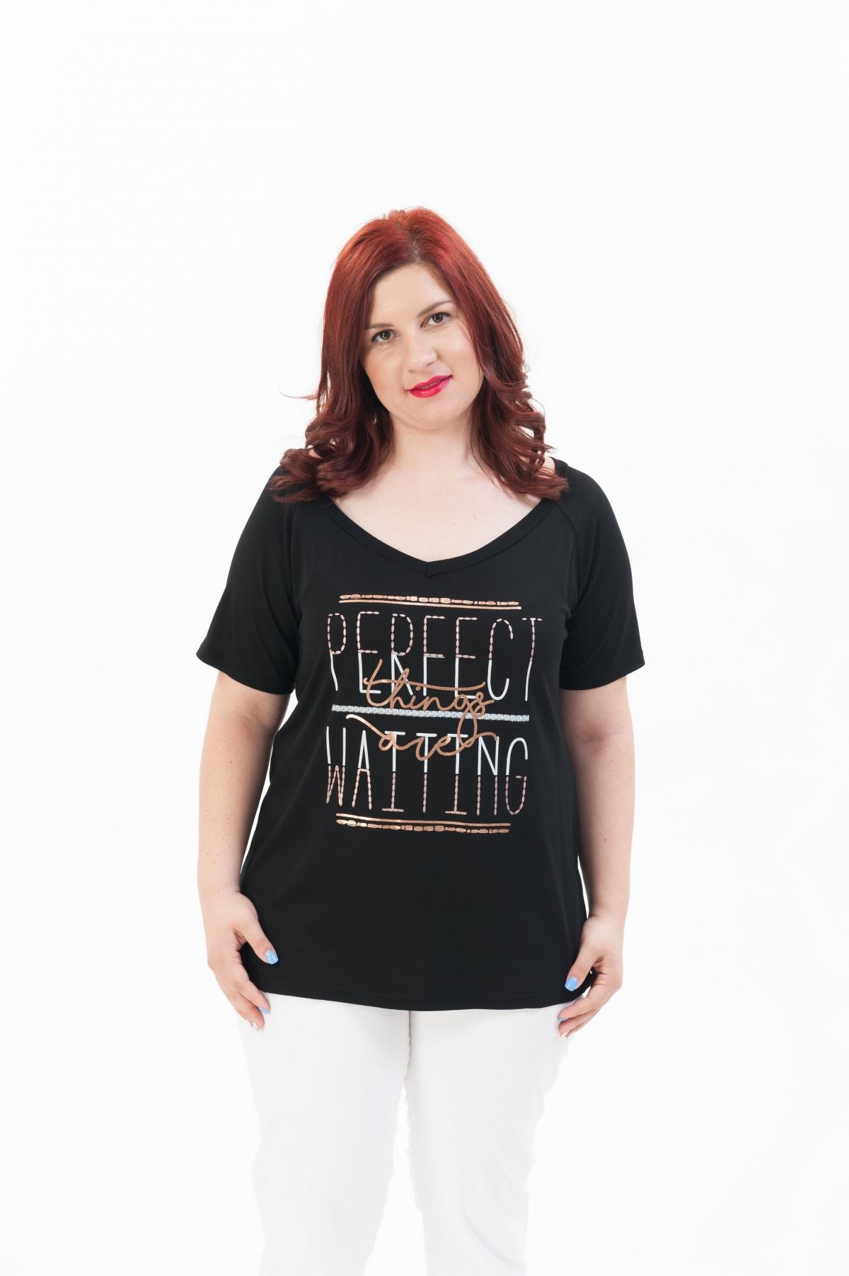 a424276a0d3 ΜΠΛΟΥΖΑ ΚΟΝΤΟ ΜΑΝΙΚΙ - Real Lady - Shop Online