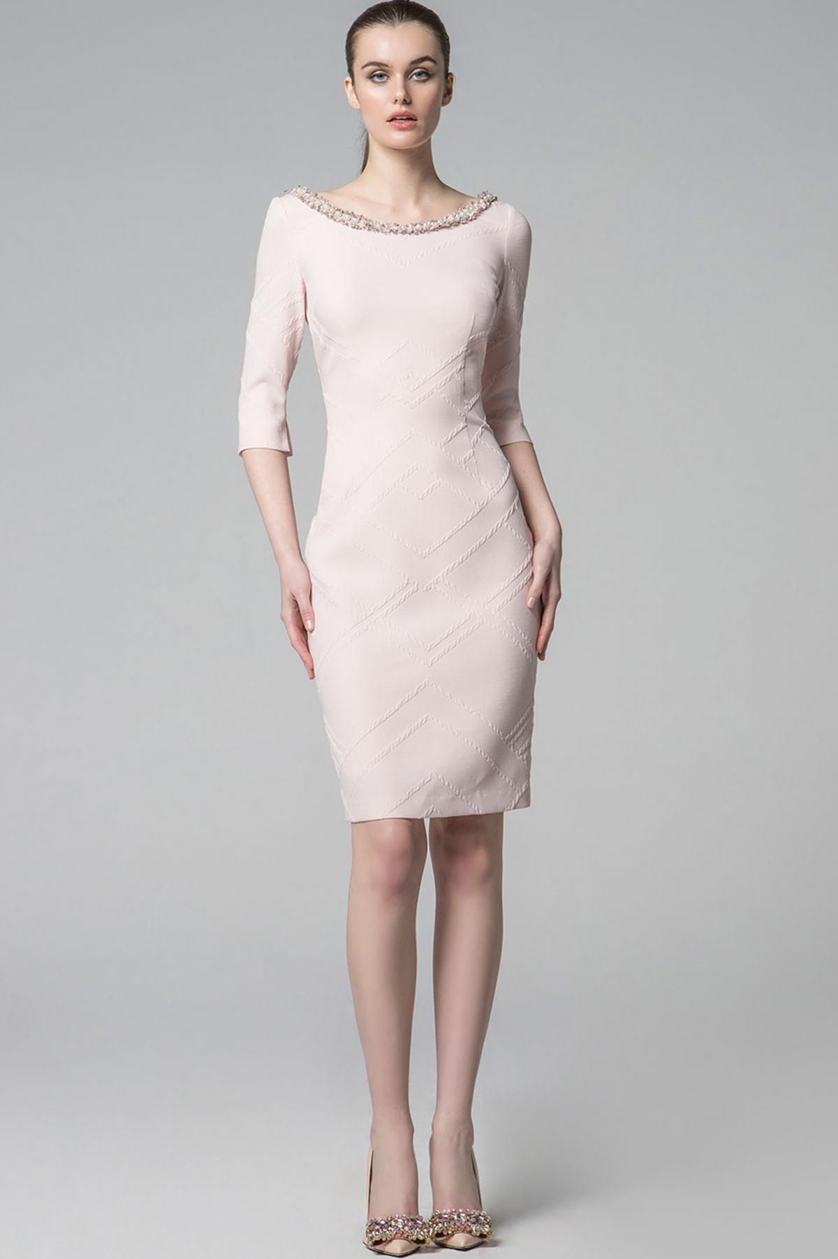 ΦΟΡΕΜΑ midi ΜΕ ΠΕΡΛΕΣ - Real Lady - Shop Online 8a410fc602f